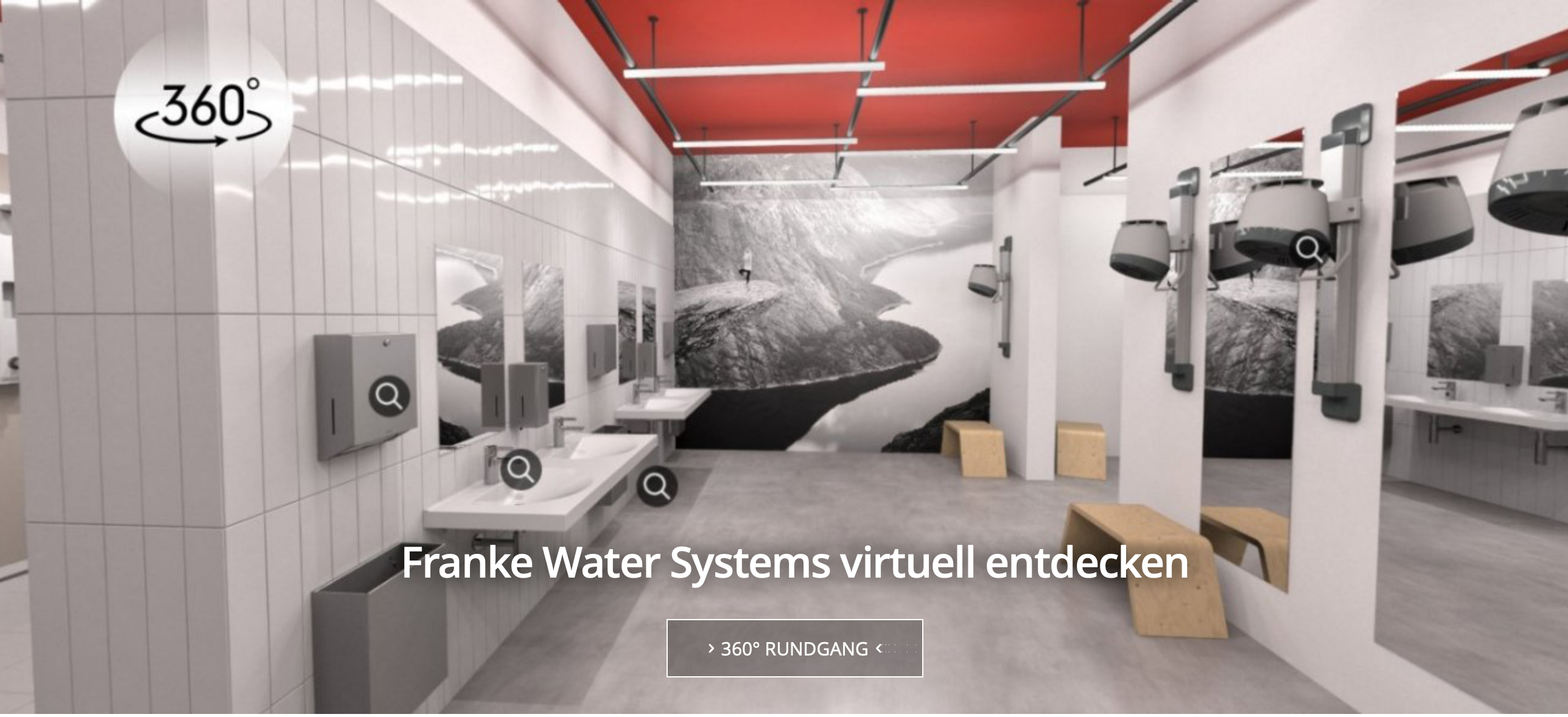 Franke Watersystems Virtuelle Messe
