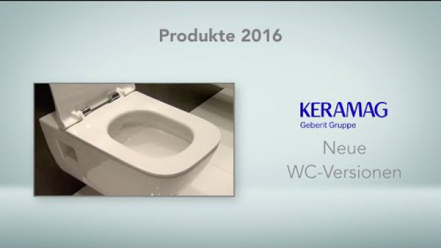 Embedded thumbnail for Keramag: WC-Versionen