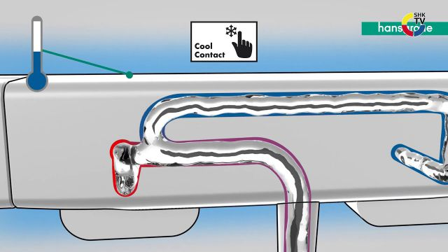 Embedded thumbnail for hansgrohe Ecostat E Thermostat mit Cool Contact