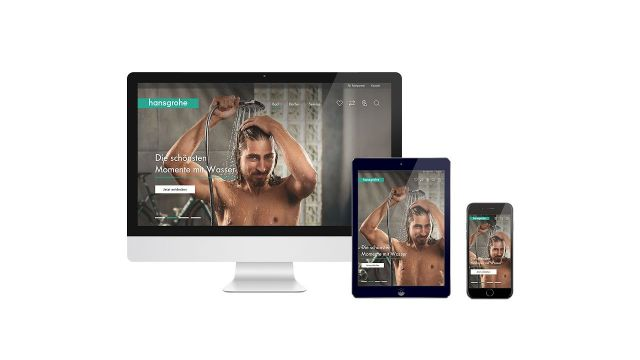 Embedded thumbnail for  Hansgrohe: Neue Website